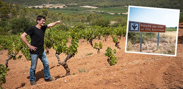Corbiere winemaker Jean-Baptiste